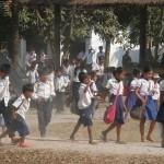 A la sortie de l'école de PPS