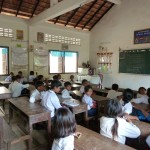 Une classe de l'école primaire