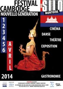 Affiche Festival Cambodge Nouvelle Génération